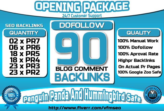 Make DoFollow 90 Blog Comment Backlinks On Highpr