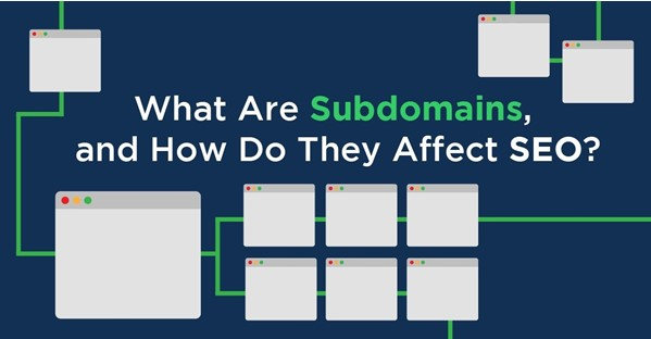 what is a subdomain used for