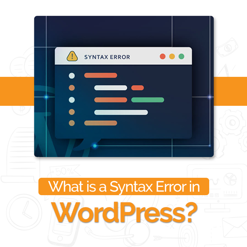 what is a syntax error