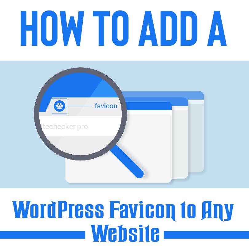 Change Favicon WordPress