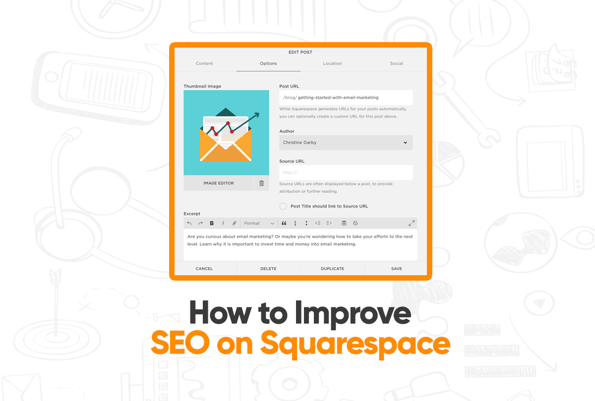 how to improve seo on squarespace