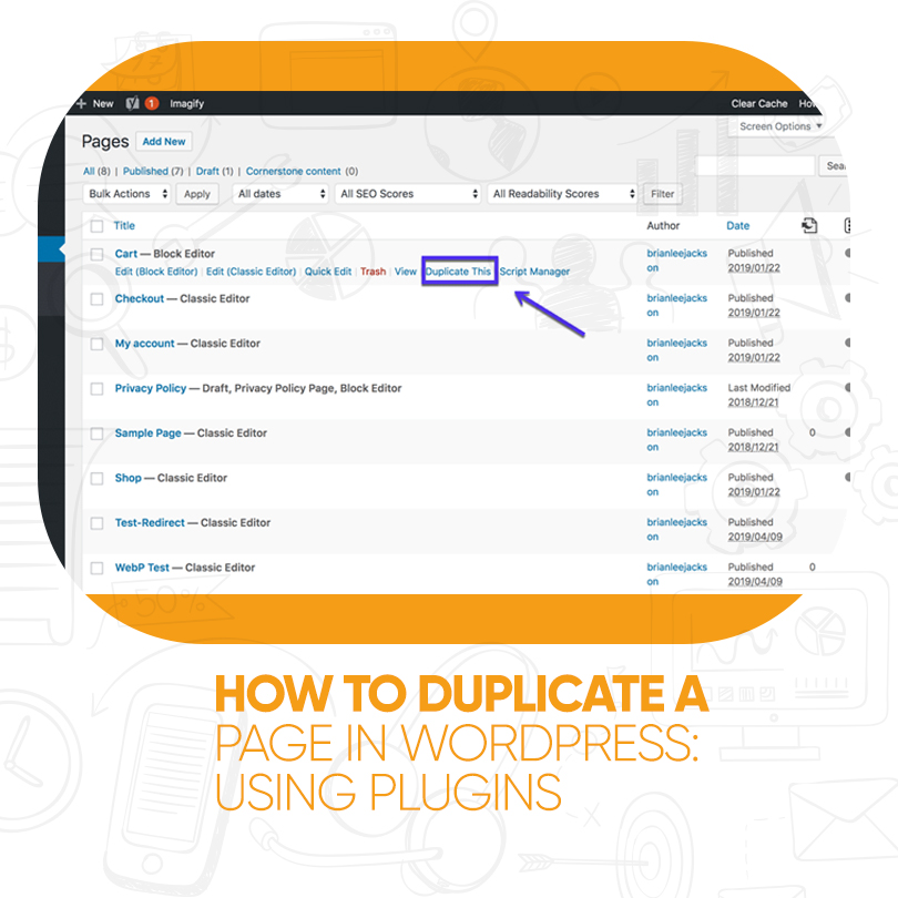 How to Duplicate a Page in WordPress Using Plugins