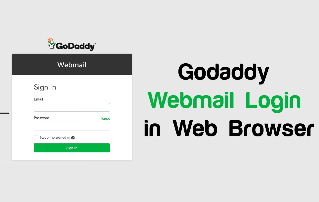 how to check godaddy email online