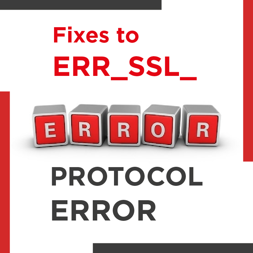 Err_Ssl_Protocol_Error Chrome