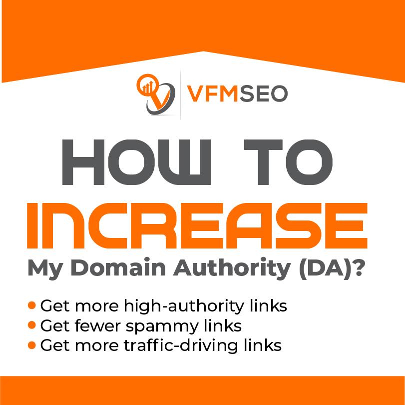increase my domain authority