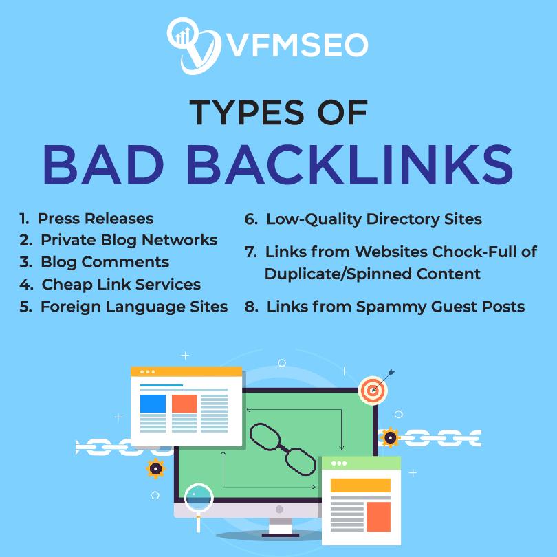 Find Bad Backlinks