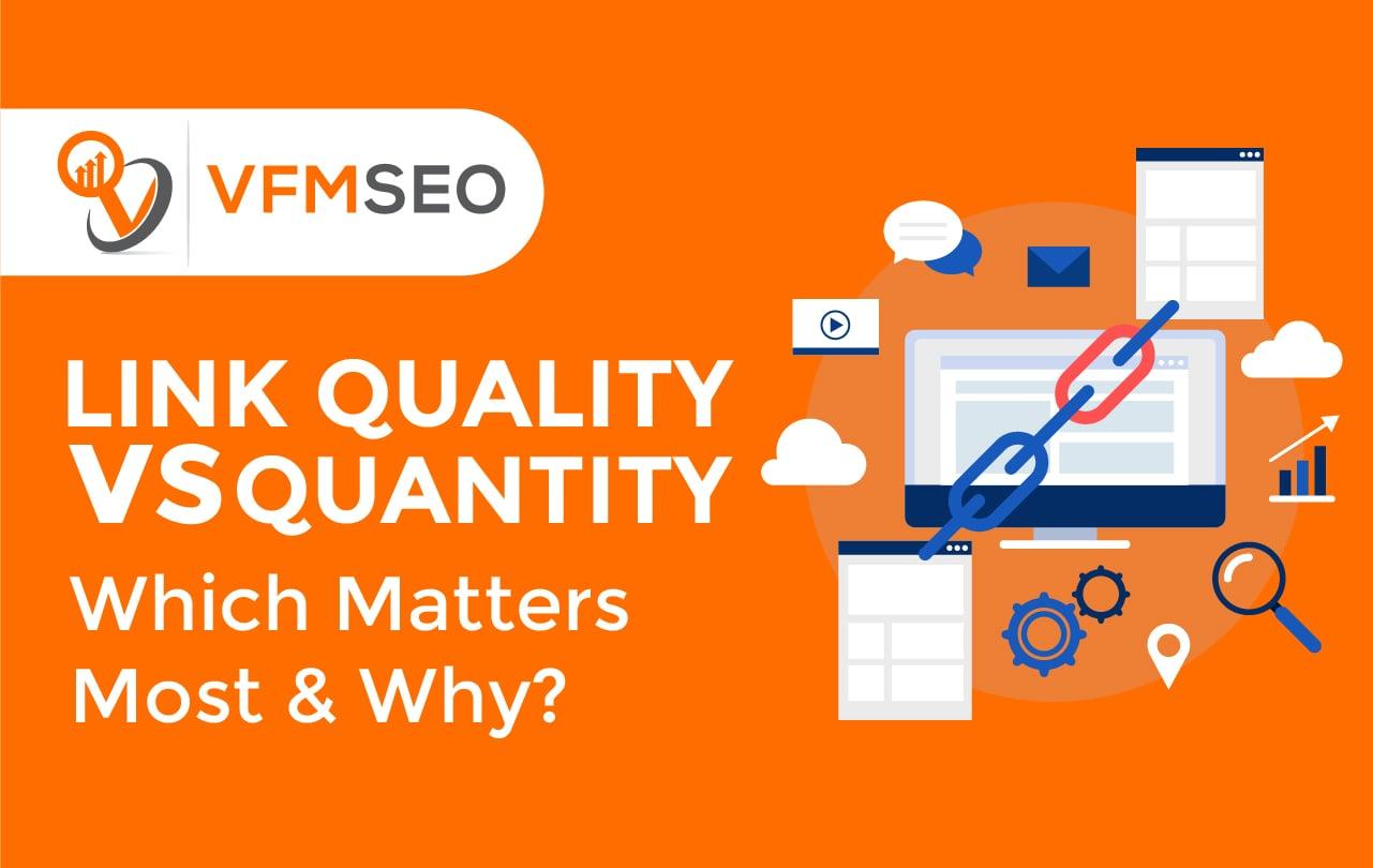 best link building quality vs quantity
